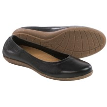 Taos Footwear Flirt Ballet Flats - Leather (For Women) in Black - Closeouts