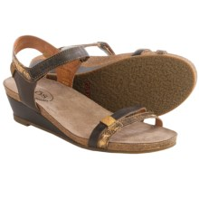 Taos Footwear Gala Leather Sandals (For Women) in Brown Multi - Closeouts