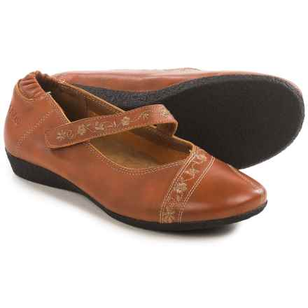 Taos Footwear Grace Mary Jane Shoes - Leather (For Women) in Burnt Orange - Closeouts