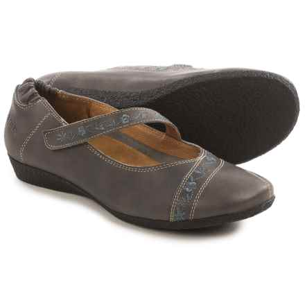 Taos Footwear Grace Mary Jane Shoes - Leather (For Women) in Grey - Closeouts