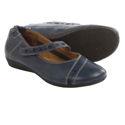 Taos Footwear Grace Mary Jane Shoes - Leather (For Women) in Navy - Closeouts