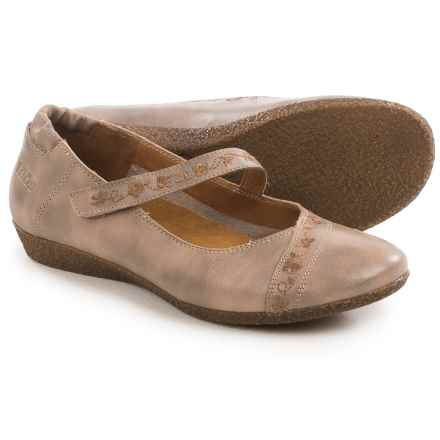 Taos Footwear Grace Mary Jane Shoes - Leather (For Women) in Stone - Closeouts