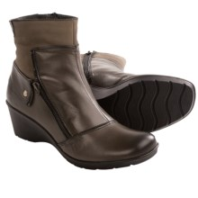 Taos Footwear Happening Ankle Boots - Leather, Fleece Lining (For Women) in Graphite - Closeouts