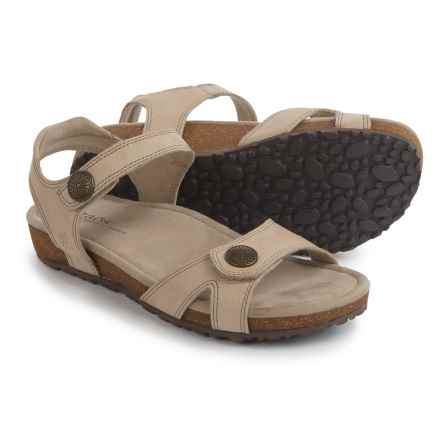 Taos Footwear Louise Sandals - Leather (For Women) in Sand - Closeouts
