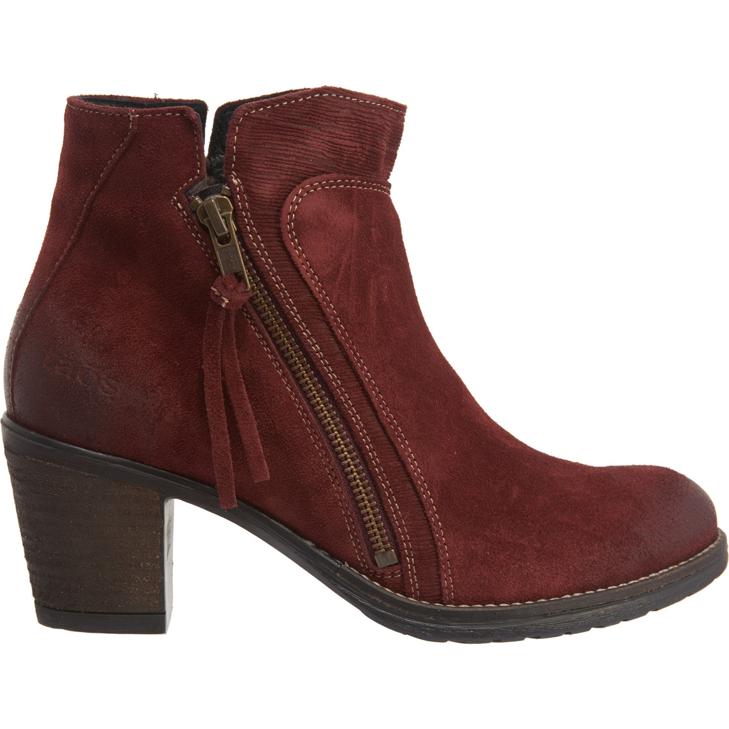Taos Footwear Made in Portugal Dillie Booties Suede (For Women)