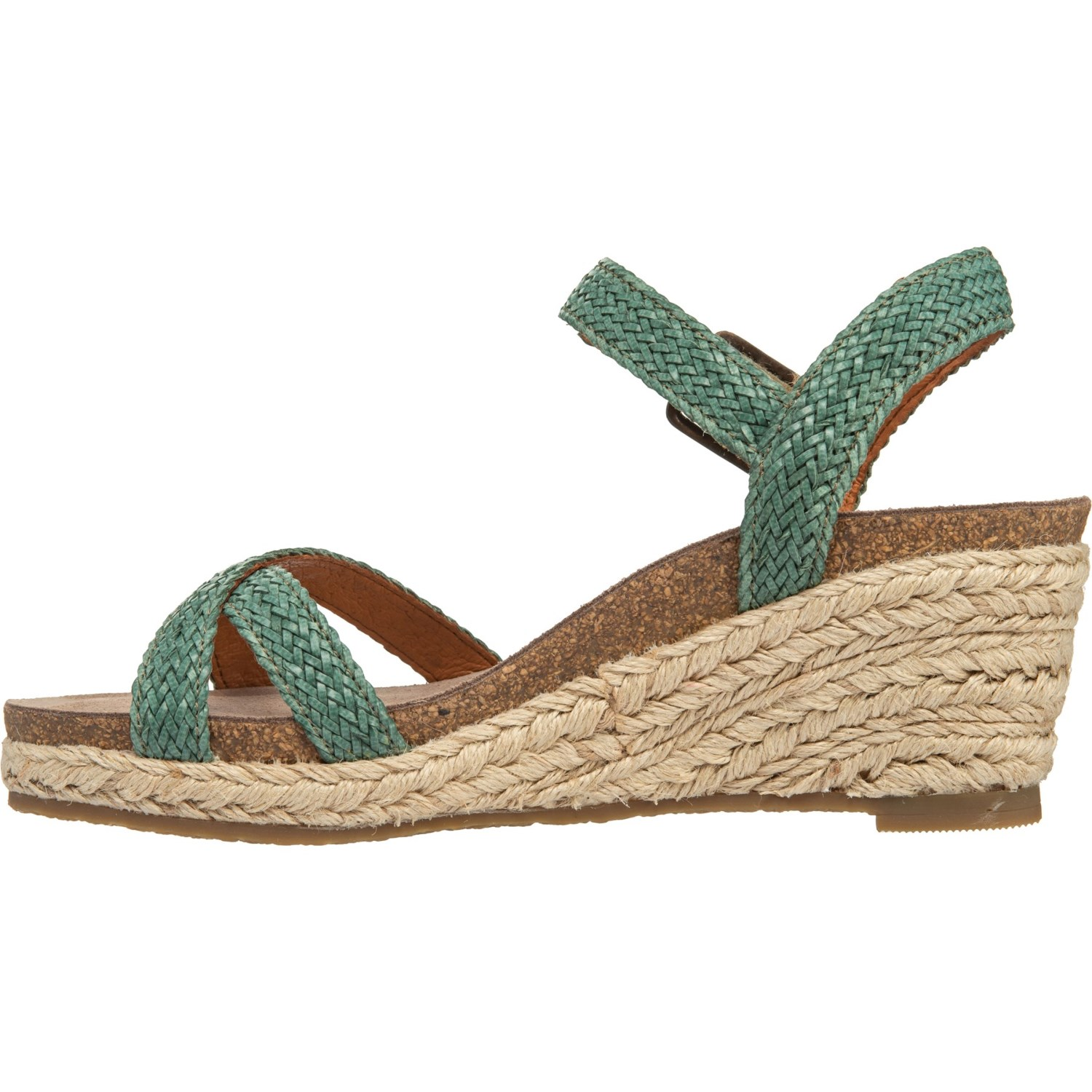 0cda00ee3 Taos Footwear Made in Portugal Hey Jute Wedge Sandals (For Women ...