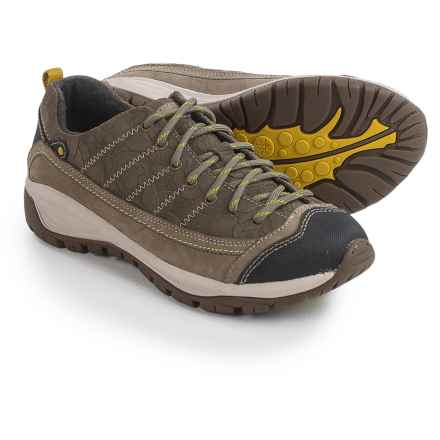 Taos Footwear Motion HIking Shoes - Leather (For Women) in Natural - Closeouts