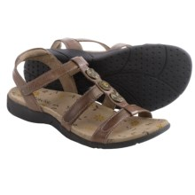 Taos Footwear Natural Sandals - Leather (For Women) in Brown - Closeouts