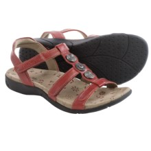 Taos Footwear Natural Sandals - Leather (For Women) in Red - Closeouts