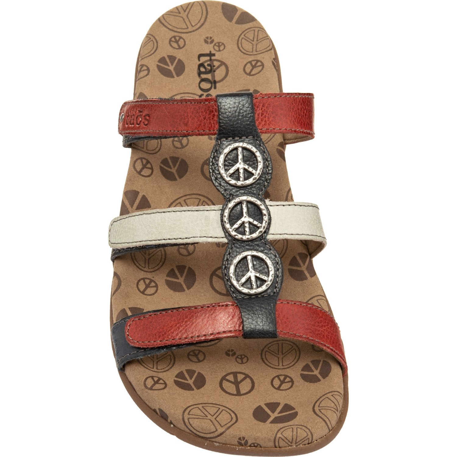 0d6bcbe7e17 Taos Footwear Peace Prize Slide Sandals (For Women) - Save 33%