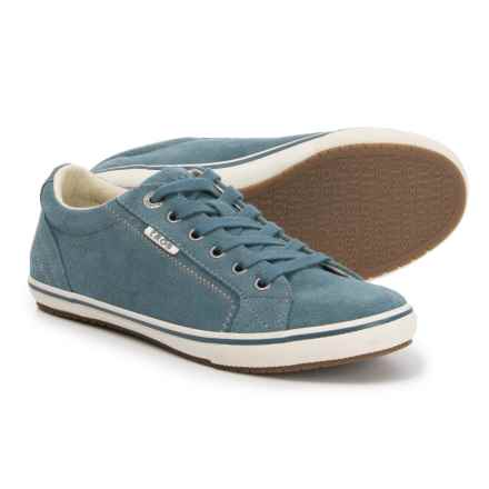 Taos Footwear Retro Star Sneakers - Suede (For Women) in Blue Suede - Closeouts