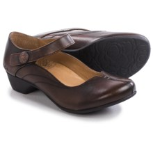 Taos Footwear Samba 2 Mary Jane Shoes - Leather (For Women) in Brown Rub Off - Closeouts