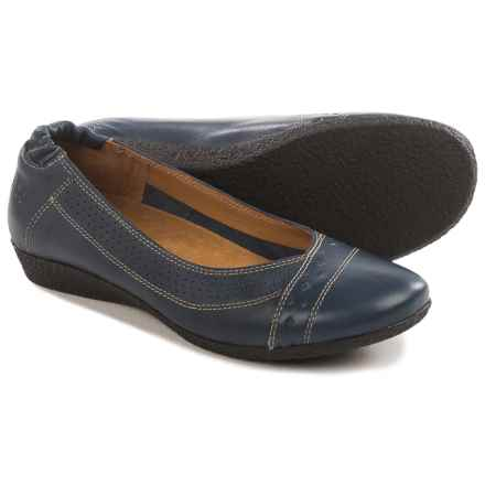 Taos Footwear Sleek Flats - Leather (For Women) in Navy - Closeouts
