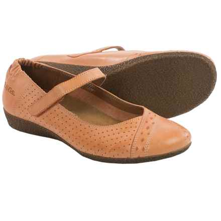 Taos Footwear Step It Up Shoes - Leather (For Women) in Coral - Closeouts