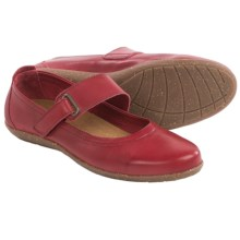 Taos Footwear Talent Mary Jane Shoes - Leather (For Women) in Deep Red - Closeouts
