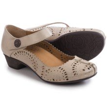 Taos Footwear Tango Mary Jane Shoes - Leather (For Women) in Sand - Closeouts