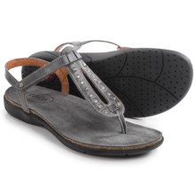 Taos Footwear Trance Leather Sandals (For Women) in Graphite - Closeouts