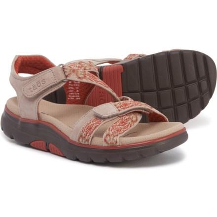 bdd31461d3cd Taos Footwear Zen Sandals - Leather (For Women) in Stone Brick