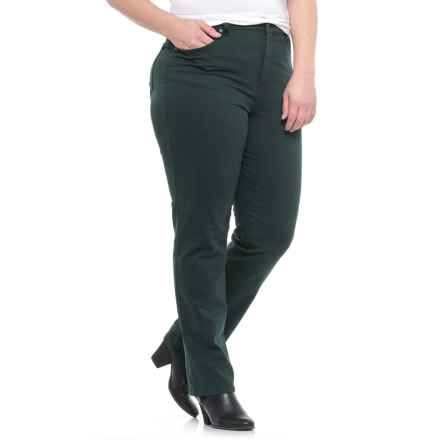 Tapered-Leg Jeans (For Women) in Forest Green - 2nds