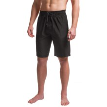 Tapout Box Texture Training Boardshorts (For Men) in Black - Closeouts