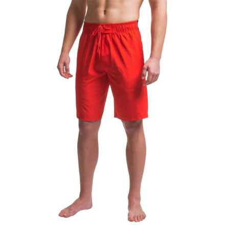 Tapout Box Texture Training Boardshorts (For Men) in Flame - Closeouts