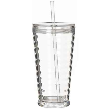 TarHong Sienna Sipper Cup with Straw - 22 oz. in Clear - Overstock