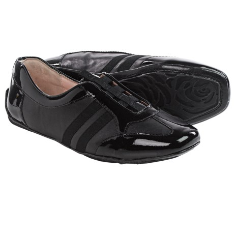 Taryn Rose Caya Leather Shoes Slip Ons (For Women)