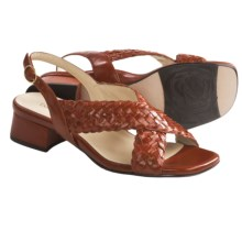 Taryn Rose Orla Woven Sandals - Leather (For Women) in Fanta Vintage Calf - Closeouts