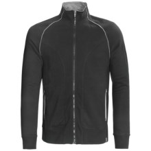 Tasc 101 Fleece Jacket - UPF 50+, Full Zip (For Men) in Black - Closeouts