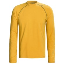 Tasc Blaze Shirt - UPF 50+, Organic Cotton, Long Sleeve (For Men) in Yellowfin/Navy - Closeouts