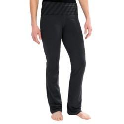 tasc Bliss Yoga Pants - UPF 50+, Organic Cotton (For Women) in Gunmetal/Gunmetal