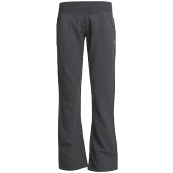 Tasc Chamonix Fleece Pants - UPF 50+, Organic Cotton Blend (For Women) in Gunmetal