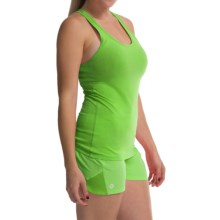 tasc Core Racer Tank Top - UPF 50+, Organic Cotton (For Women) in Green Flash - Closeouts