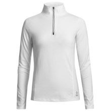 Tasc Core Shirt - UPF 50+, Zip Neck, Long Sleeve (For Women) in White - Closeouts