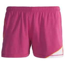 tasc Dynamo Shorts - UPF 50+ (For Women) in Dragonfruit/Tang