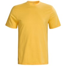 Tasc Essential Crew T-Shirt - UPF 50+, Organic Cotton, Short Sleeve (For Men) in Yellowfin - Closeouts