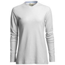 Tasc Flex-Tech Waffle Shirt - UPF 50, Long Sleeve (For Women) in White - Closeouts