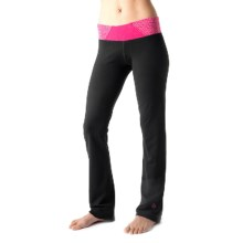 tasc Hot Stuff Pants - UPF 50+, Organic Cotton (For Women) in Black/Fruit Punch - Closeouts