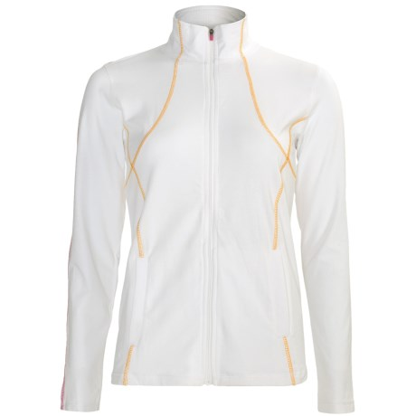 tasc Incline Running Jacket - UPF 50+ (For Women) in White