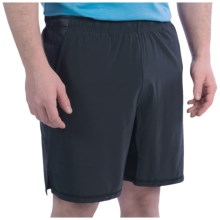 tasc Motivate Shorts - UPF 50+, Built-In Briefs (For Men) in Black/Gunmetal - Closeouts