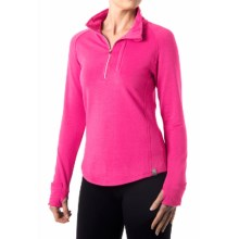 tasc Northstar Fleece Pullover Shirt - UPF 50+, Zip Neck, Long Sleeve (For Women) in Fruit Punch - Closeouts
