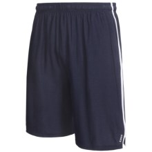 Tasc Sideline Shorts - UPF 50+, Organic Cotton (For Men) in Navy/White - Closeouts