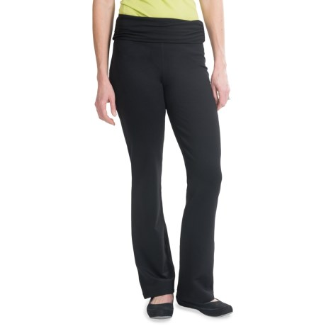 tasc Toasty Pants - Velu Fleece, Organic Cotton (For Women) in Black