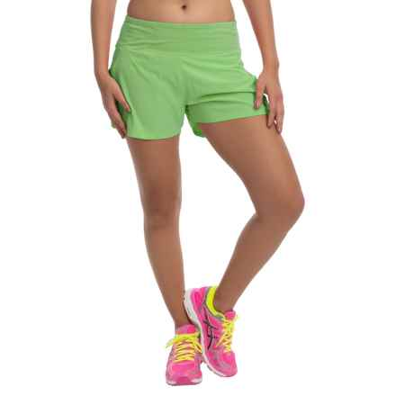 tasc Verve Shorts - UPF 50+ (For Women) in Green Flash - Closeouts
