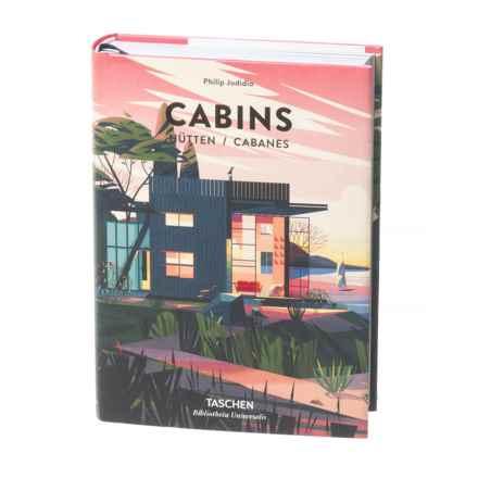 Taschen Books Cabins, Hardcover Book in Multi - Closeouts