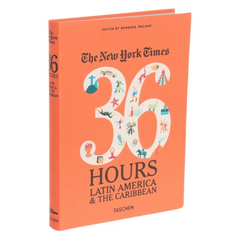 Taschen Books The New York Times 36 Hours: Latin America and the Caribbean, Paperback Book in See Photo