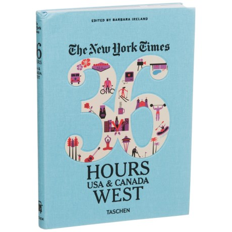 Taschen Books The New York Times 36 Hours: USA and Canada West, Paperback Book in See Photo