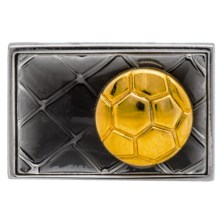 Tateossian Novelty Lapel Pin (For Men and Women) in Vintage Soccer - Closeouts