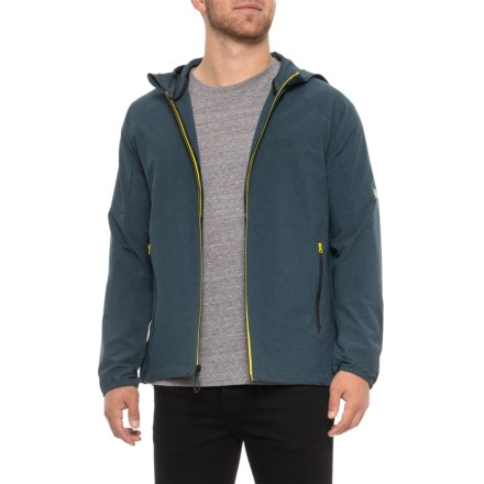 31d5f894536 TAVIK Contact Jacket (For Men) in Heather Indigo - Closeouts