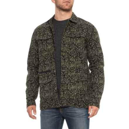 TAVIK Isle Poplin Jacket (For Men) in Silt Green - Closeouts
